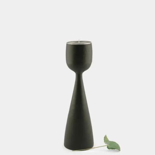 Black Wood Tealight Holders