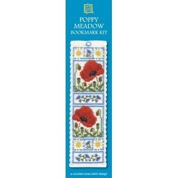 Bookmark - Poppy Meadow