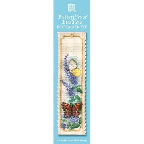 Bookmark - Butterflies & Buddleia