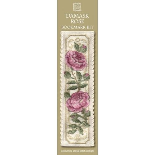 Bookmark - Damask Rose