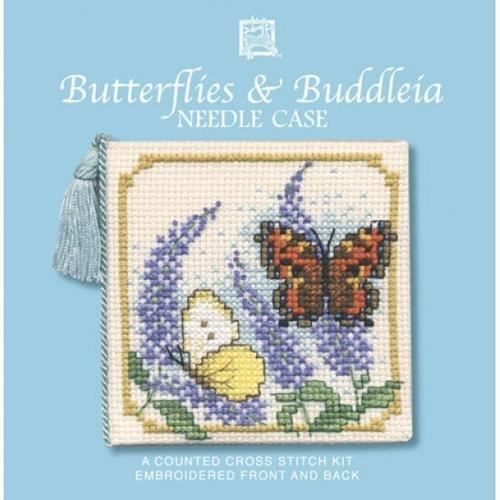 Needlecases - Butterflies & Buddleia