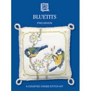 Pincushions - Bluetits