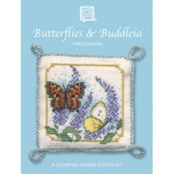 Pincushions - Butterflies & Buddleia