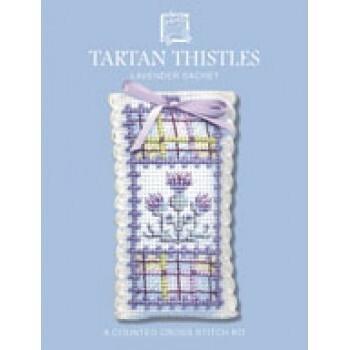 Lavender Sachets - Tartan Thistles
