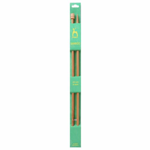 6mm Bamboo Knitting Needles