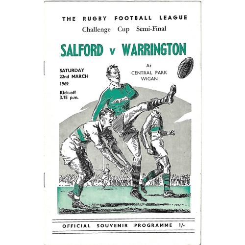 Challenge Cup Semi Final Rugby League Programmes