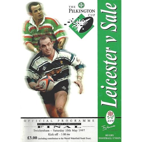 Pilkington Cup Final Rugby Union Programmes