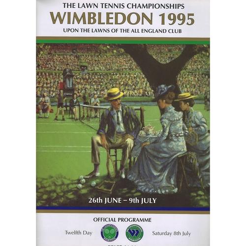 1995 (12th Day) Wimbledon Tennis Programme