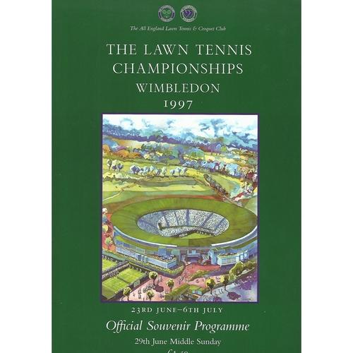 1997 (Middle Sunday) Wimbledon Tennis Programme