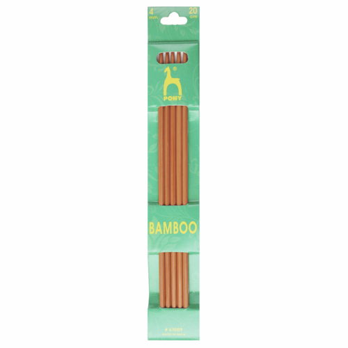 4mm Bamboo Double Pointed Knitting Needles