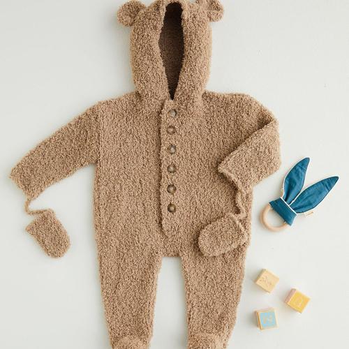 Snowflake Chunky Romper Suit Pattern 5400