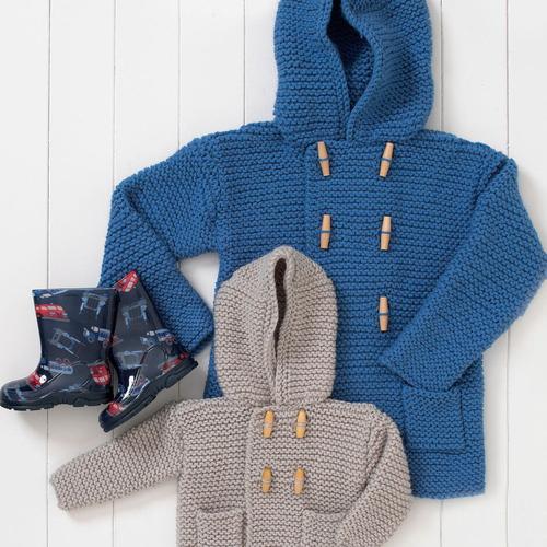 Chunky Duffle Coat Pattern 4486