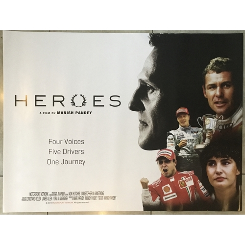Heroes (UK Quad) Movie Poster