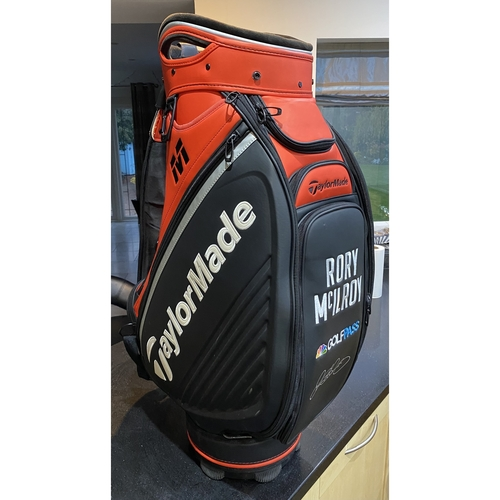 Rory McIlroy Hand Signed Tour Bag