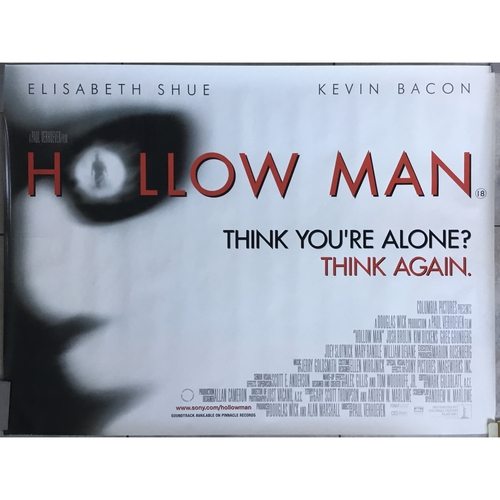 Hollow Man (UK Quad) Movie Poster