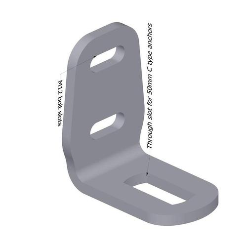 SA522 - 90° 3 Slot Bracket