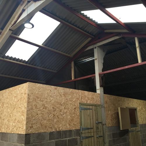 Equestrian Centre Installation