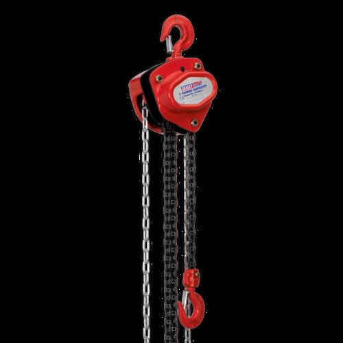 Chain Block 1tonne 2.5m - Sealey - CB1000