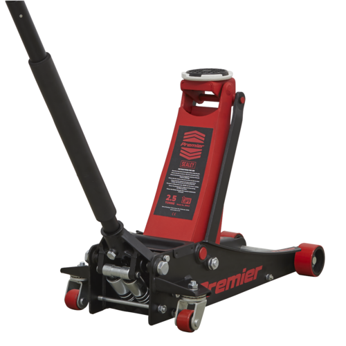 Trolley Jack 2.5tonne Low Entry with Rocket Lift - Sealey - 2501LE