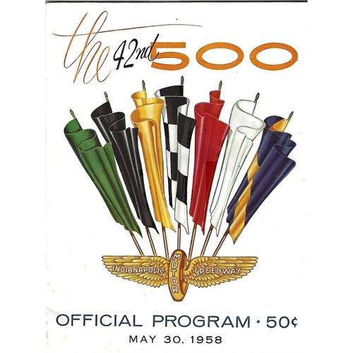 Indianapolis 500 Motor Racing Programmes