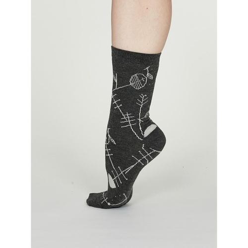 Thought Bamboo Socks Abstract