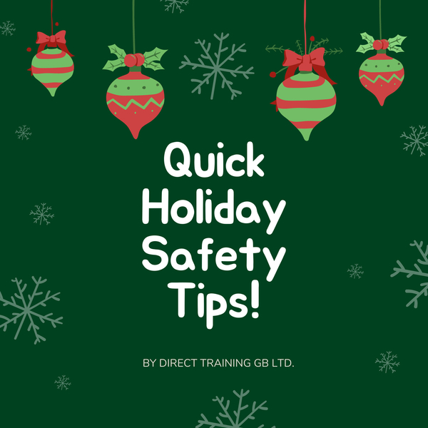Quick Holiday Safety Tips