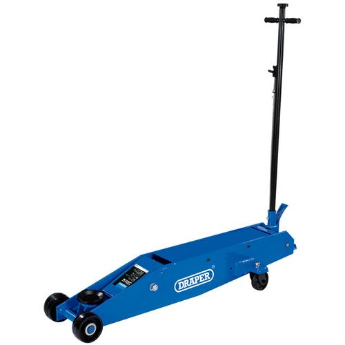 Long Chassis Trolley Jack (10 Tonne) - Draper - 03494