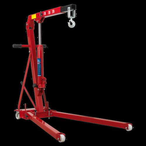 Folding Engine Crane 1tonne Low Profile - Sealey - PH10