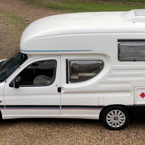 2000(X)reg Romahome Duo Plus 4 Seater Citroen Berlingo 1.9D Motorhome Camper Van