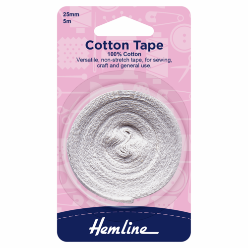 25mm Cotton Tape