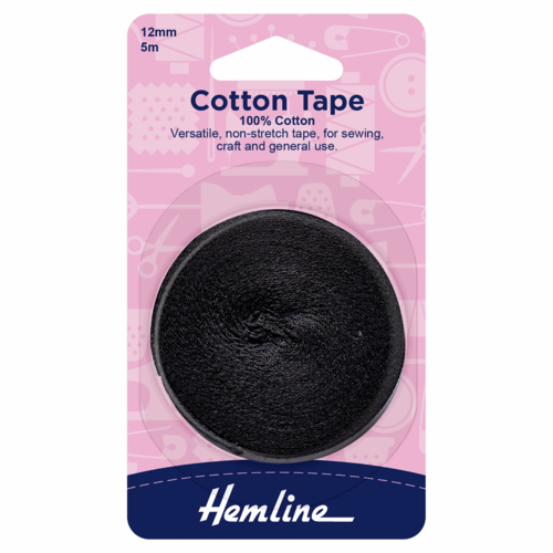 12mm Cotton Tape