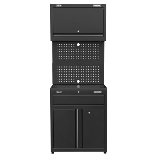 Modular Base & Wall Cabinet with Drawer - Sealey - APMS2HFPD
