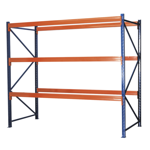 Heavy-Duty Racking Unit with 3 Beam Sets 1000kg Capacity Per Level - APR3001