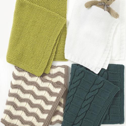 Chunky Blankets Pattern 4401
