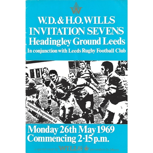 1969 Rugby League Invitation Sevens Programme