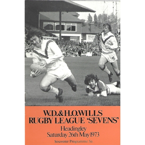 1973 Rugby League Sevens Programme