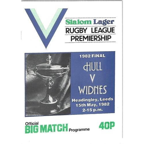 Premiership Trophy Final Rugby League Programmes