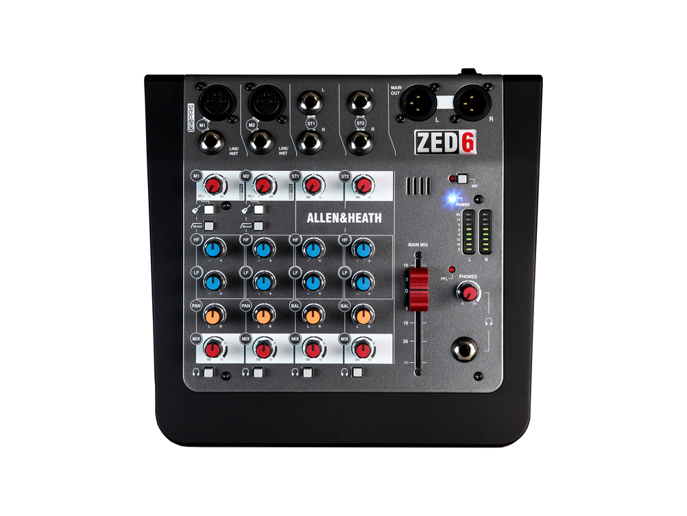 Allen & Heath ZED-6 Mixer