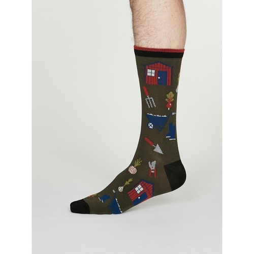 Thought Bamboo Socks Gardener 2 pairs