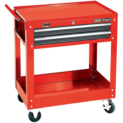 Expert 2 Level Tool Trolley with Two Drawers - Draper - 07635
