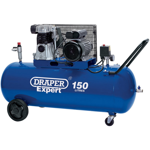 150L Belt-Driven Air Compressor (2.2kW) - Draper - 22463