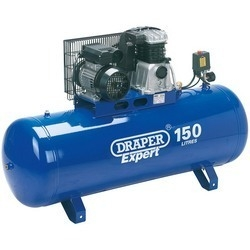 150L Stationary Belt-Driven Air Compressor (2.2kW) - Draper - 69337