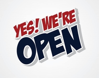 Once Again..... We're Still Open