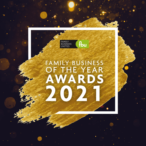Shortlisted?  Us?  Family Business o' the Year, 2021?  Hurray!