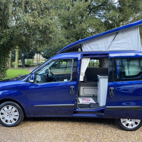2013 (63)reg Fiat Doblo MyLife Camper Van 2 Berth 1.6 M-Jet Diesel 42642 Miles