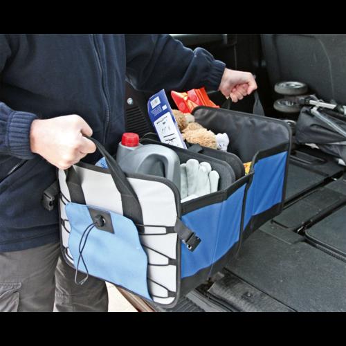 Car Boot Organizer 4 Compartment - Sealey - CBO1