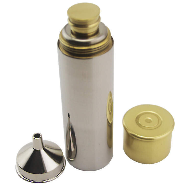 New Cartridge Style Hip Flask