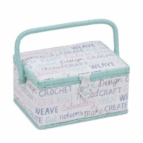 Words Sewing Box