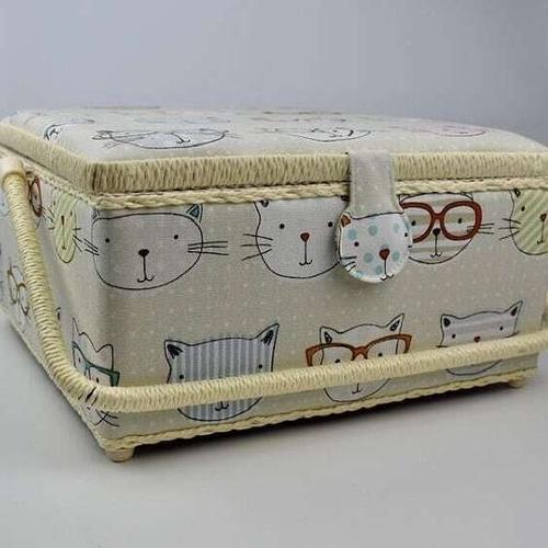 Cat Sewing Box