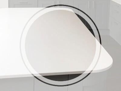 quartz kitchen worktops edge profile